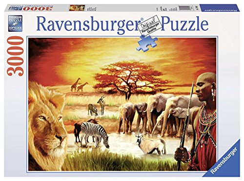 Ravensburger 17056 Puzzle Fierezza Du Massai 3000 Pezzi 0