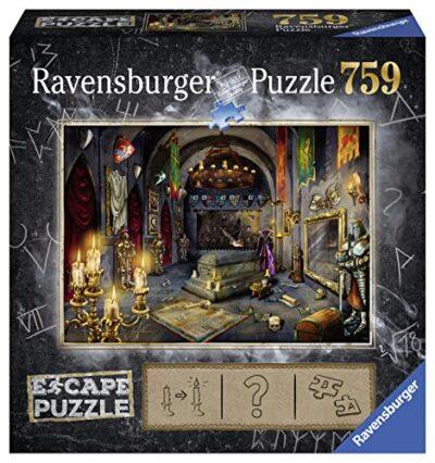 Ravensburger 199617 Escape Puzzle Per Adulti Il Castello Del Vampiro 759 Pezzi Dimensioni Finali 70x50 Cm 0