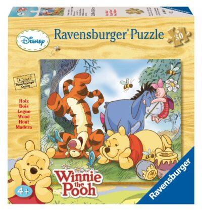 Ravensburger 39197 Winnie The Pooh Puzzle In Legno Da 30 Pezzi 0