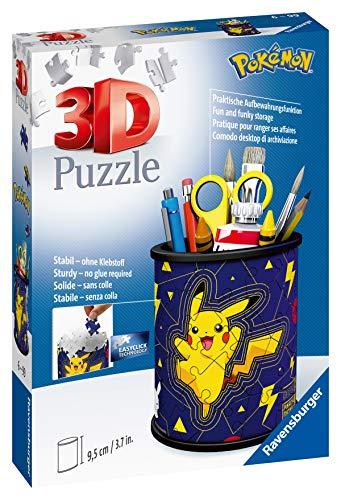 Ravensburger 3d Puzzle Portapenne Dei Pokemon Oggetto Di Arredamento Per Scrivania Eta Raccomandata 6 11257 9 0 0