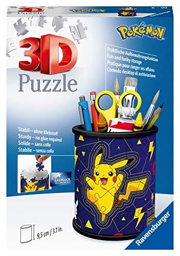 Ravensburger 3d Puzzle Portapenne Dei Pokemon Oggetto Di Arredamento Per Scrivania Eta Raccomandata 6 11257 9 0
