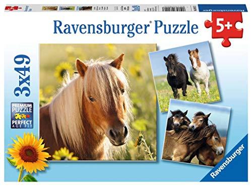Ravensburger Cavalli 3 Puzzle Da 49 Pezzi Multicolore 8011 0