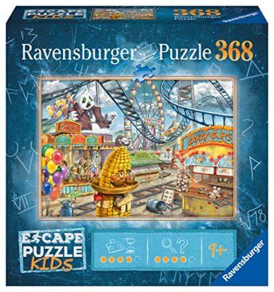 Ravensburger Escape Room Kids Parco Divertimenti 368 Pezzi Puzzle Per Bambini Dai 9 Anni In Su 12936 0