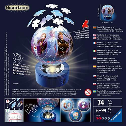 Ravensburger Frozen 2 Lampada Notturna 3d 0 1