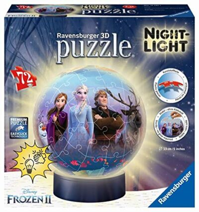 Ravensburger Frozen 2 Lampada Notturna 3d 0