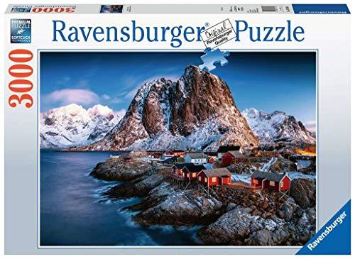Ravensburger Hamnoy Lofoten Puzzle Da Adulti Multicolore 3000 Pezzi 17081 0