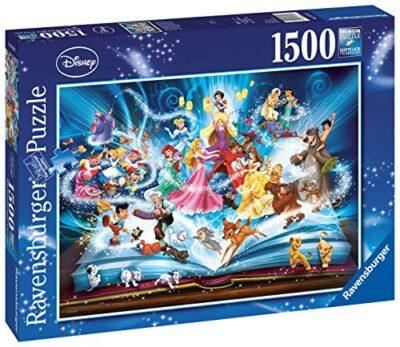 Ravensburger Il Magico Libro Delle Fiabe Disney Classics Puzzle 1500 Pezzi Relax Puzzles Da Adulti Dimensione 80x60 Cm Stampa Di Alta Qualita 0 0