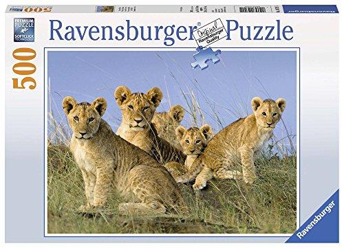 Ravensburger Italy 14791 Cuccioli Di Leone Puzzle 500 Pezzi Multicolore 0