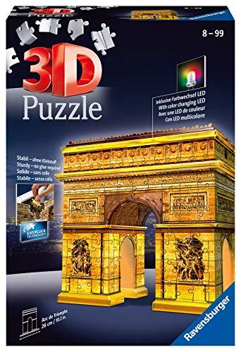 Ravensburger Italy Arco Di Trionfo Puzzle 3d Building Night Edition Colore Meerkleurig 12522 0