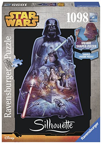 Ravensburger Italy Darth Vader Puzzle Silhouette Star Wars Multicolore 16158 0
