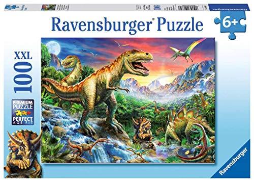 Ravensburger Italy Dinosauri Preistorici Puzzle Per Bambini Multicolore 100 Pezzi 878367 0