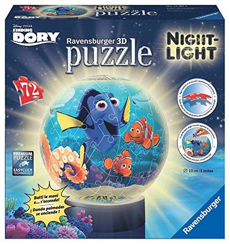 Ravensburger Italy Disney Alla Ricerca Di Dory Puzzle 3d Lampada Notturna 12181 0