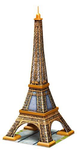 Ravensburger Italy Eiffel Tower Paris Puzzle 3d 216 Pezzi Multicolore 125562 0 0