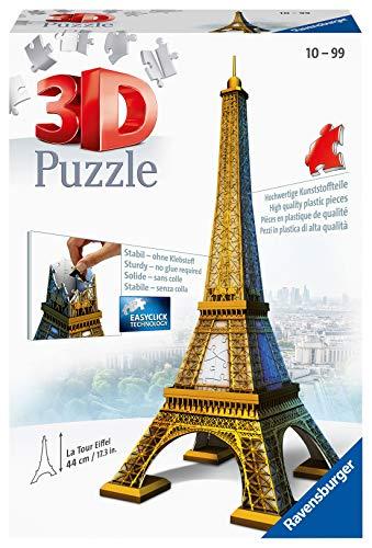 Ravensburger Italy Eiffel Tower Paris Puzzle 3d 216 Pezzi Multicolore 125562 0