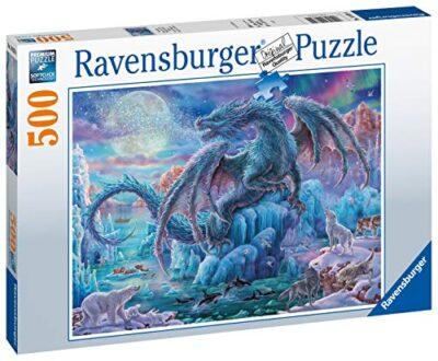 Ravensburger Italy Eisdrache Puzzle Da 500 Pezzi Multicolore Taglia Unica 14839 4 0 0