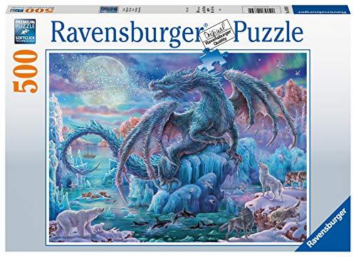 Ravensburger Italy Eisdrache Puzzle Da 500 Pezzi Multicolore Taglia Unica 14839 4 0