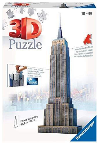 Ravensburger Italy Empire State Building Puzzle 3d 216 Pezzi Multicolore 12553 0