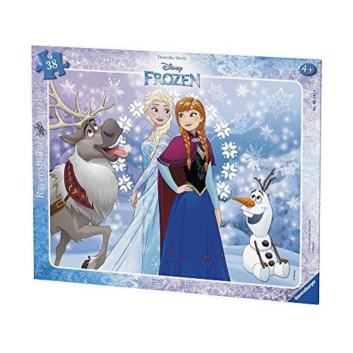 Ravensburger Italy Frozen Puzzle Incorniciato 38 Pezzi Multicolore 06141 9 0 0