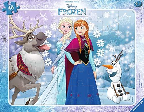 Ravensburger Italy Frozen Puzzle Incorniciato 38 Pezzi Multicolore 06141 9 0