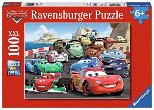 Ravensburger Italy Gara Con Imprevisti Cars 2 Puzzle 100 Pezzi Xxl Multicolore 10615 0