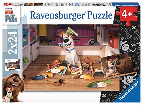 Ravensburger Italy Pets Puzzle Per Bambini 2x24 Pezzi Multicolore 09110 0