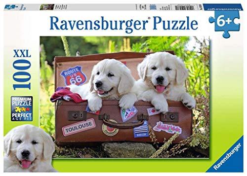 Ravensburger Italy Puzzle 100 Pezzi Xxl Cani Cuccioli Cagnolini Multicolore 10538 0 0