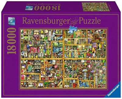 Ravensburger Italy Puzzle 18000 Pezzi Colin Thompson Libreria Multicolore 17825 4 0