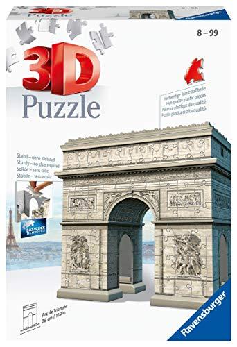 Ravensburger Italy Puzzle 3d Arco Di Trionfo 12514 2 0