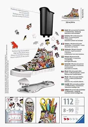 Ravensburger Italy Puzzle 3d Sneaker Portapenne Emoji 108 Pezzi 11218 0 0
