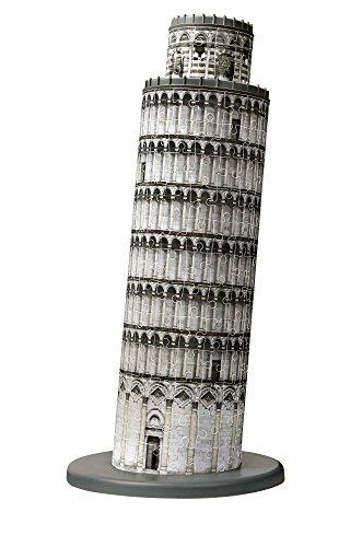 Ravensburger Italy Torre Di Pisa Puzzle 3d 216 Pezzi Multicolore 12557 9 0 0