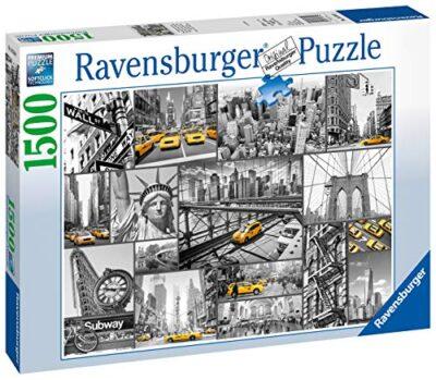 Ravensburger Macchie Di Colore A New York Puzzle 1500 Pezzi Relax Puzzles Da Adulti Dimensione 80x60 Cm Stampa Di Alta Qualita Travel City 0 0