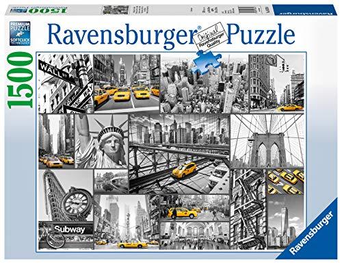 Ravensburger Macchie Di Colore A New York Puzzle 1500 Pezzi Relax Puzzles Da Adulti Dimensione 80x60 Cm Stampa Di Alta Qualita Travel City 0