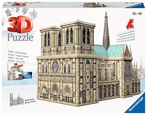 Ravensburger Notre Dame Puzzle 3d Building Maxi 0