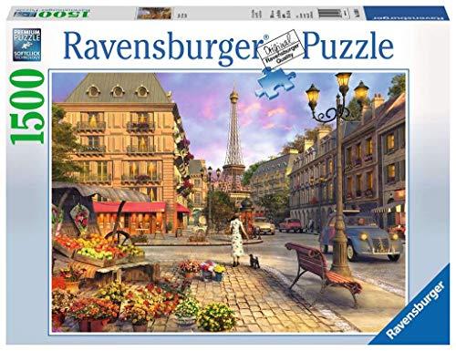 Ravensburger Paris Puzzle Citta Di Parigi Puzzle 1500 Pezzi Relax Puzzles Da Adulti Dimensione 80x60 Cm Stampa Di Alta Qualita Travel Viaggi 0
