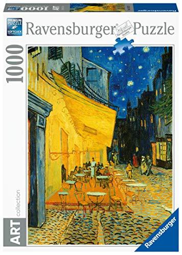 Ravensburger Puzzle 1000 Pezzi Arte Collezione Dipinti Quadri Dautore Pittori Famosi Caffe Di Notte Van Gogh 0