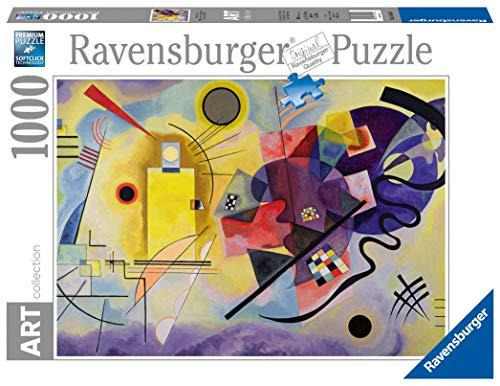 Ravensburger Puzzle 1000 Pezzi Arte Collezione Dipinti Quadri Dautore Pittori Famosi Giallo Rosso Blu Kandinsky Wassily 0