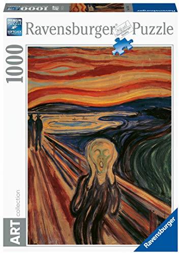 Ravensburger Puzzle 1000 Pezzi Arte Collezione Dipinti Quadri Dautore Pittori Famosi Lurlo Munch 0