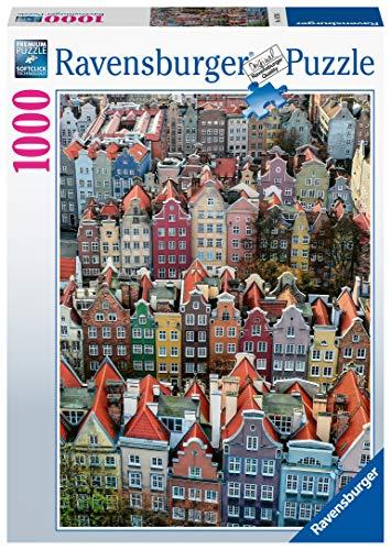 Ravensburger Puzzle 1000 Pezzi Danzica Polonia Collezione Paesaggi Foto Puzzle Per Adulti Puzzle Ravensburger Stampa Di Alta Qualita 0