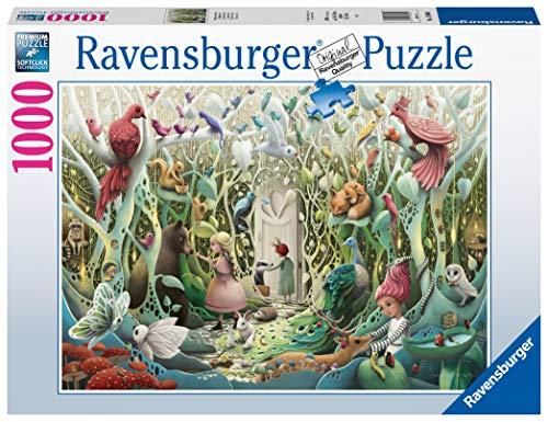 Ravensburger Puzzle 1000 Pezzi Il Giardino Segreto Collezione Fantasy Puzzle Animali Puzzle Per Adulti Puzzle Ravensburger Stampa Di Ottima Qualita 0