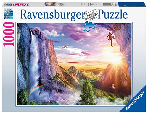 Ravensburger Puzzle 1000 Pezzi La Felicita Dello Scalatore Collezione Fantasy Puzzle Per Adulti Puzzle Ravensburger Stampa Di Ottima Qualita 0