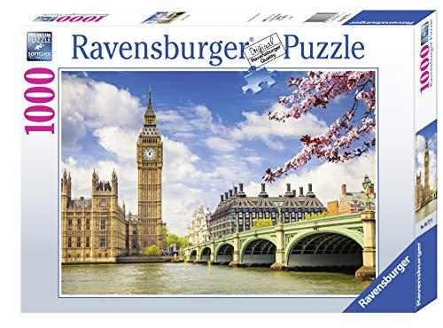 Ravensburger Puzzle 1000 Pezzi Londra Big Ben Puzzle Per Adulti Linea Foto Paesaggi Relax Stampa Di Alta Qualita Dimensioni 70x50 Cm 0