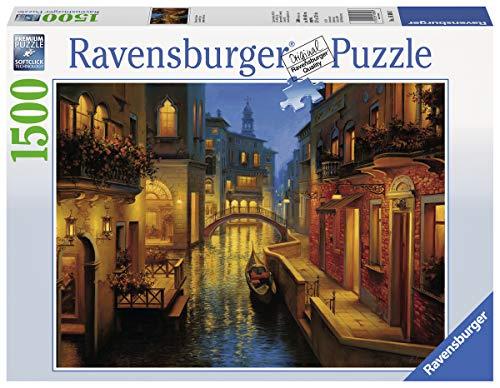 Ravensburger Puzzle 1500 Pezzi Canale Veneziano Puzzle Venezia Jigsaw Puzzle Per Adulti Puzzle Ravensburger Stampa Di Alta Qualita 0