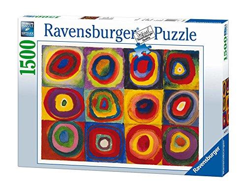 Ravensburger Puzzle 1500 Pezzi Dimensioni Puzzle 80x60 Cm Collezione Arte Puzzles Da Adulti Dipinti Quadri Famosi Puzzle Art Collection Museum Kandinsky Studio Sul Colore 16377 0