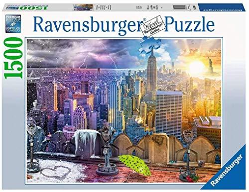 Ravensburger Puzzle 1500 Pezzi Le Stagioni Di New York Usa Viaggi Travel City Puzzles Per Adulti Dimensioni Puzzle 80x60 Cm Relax Stampa Di Alta Qualita 0
