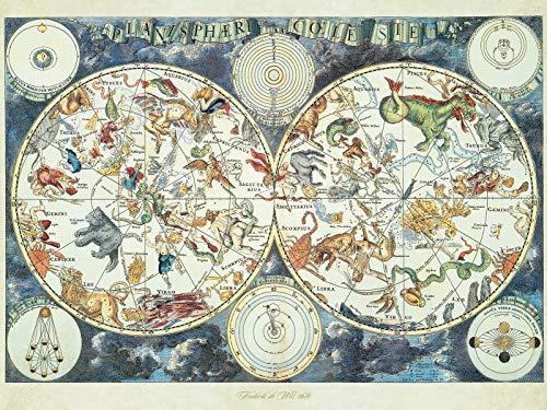 Ravensburger Puzzle 1500 Pezzi Mappa Del Mondo Di Animali Fantastici Puzzles Per Adulti Dimensioni Puzzle 80x60 Cm Relax Stampa Di Alta Qualita Rompicapo Logica 0 1
