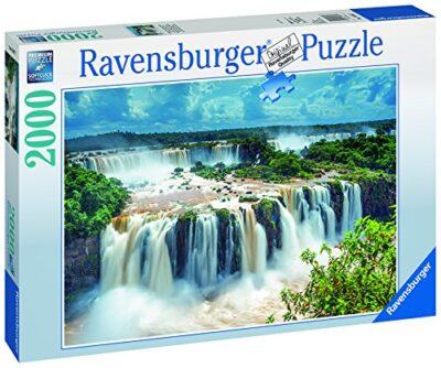Ravensburger Puzzle 2000 Pezzi Cascata Delliguazu Brasile Collezione Foto E Paesaggi Jigsaw Puzzle Per Adulti Puzzles Ravensburger Stampa Di Alta Qualita Dimensione Puzzle 98 X 75 Cm 0 1