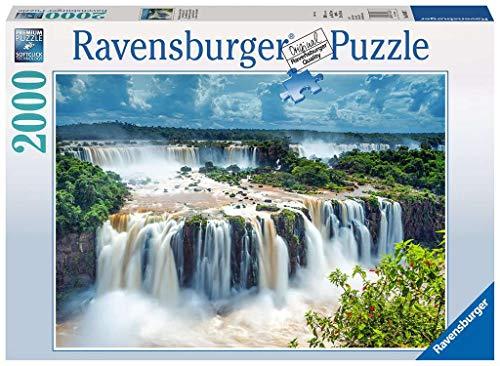 Ravensburger Puzzle 2000 Pezzi Cascata Delliguazu Brasile Collezione Foto E Paesaggi Jigsaw Puzzle Per Adulti Puzzles Ravensburger Stampa Di Alta Qualita Dimensione Puzzle 98 X 75 Cm 0