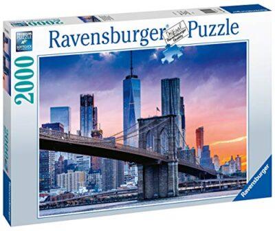 Ravensburger Puzzle 2000 Pezzi Da Brooklyn A Manhattan Collezione Skyline Foto E Paesaggi Jigsaw Puzzle Per Adulti Puzzles Ravensburger Stampa Di Alta Qualita Dimensione Puzzle 98x75cm 0 1