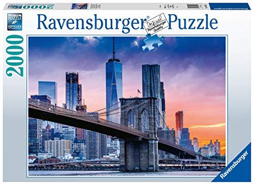 Ravensburger Puzzle 2000 Pezzi Da Brooklyn A Manhattan Collezione Skyline Foto E Paesaggi Jigsaw Puzzle Per Adulti Puzzles Ravensburger Stampa Di Alta Qualita Dimensione Puzzle 98x75cm 0