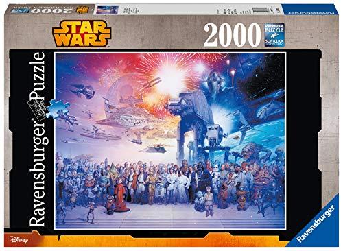 Ravensburger Puzzle 2000 Pezzi Luniverso Espanso Di Guerre Stellari Collezione Star Wars Jigsaw Puzzle Per Adulti Puzzles Ravensburger Stampa Di Alta Qualita Dimensione Puzzle 98x75cm 0